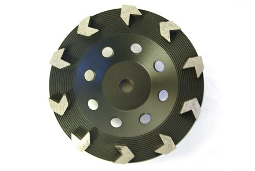 """7"""" Arrow Cup Wheel for Grinding"""