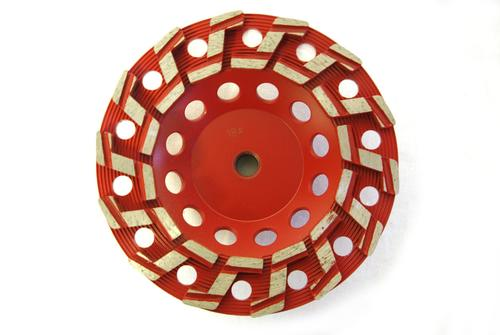 """7"""" S-Seg Cup Wheel for Grinding"""