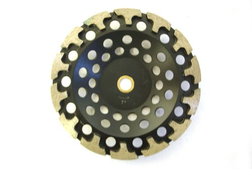 """7"""" T-Seg Cup Wheel for Grinding"""