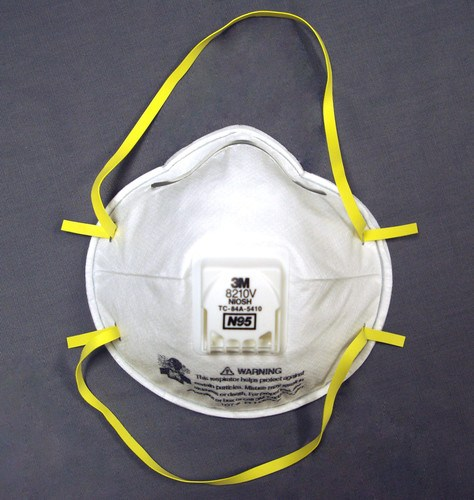 Filtered Safety Dust Mask