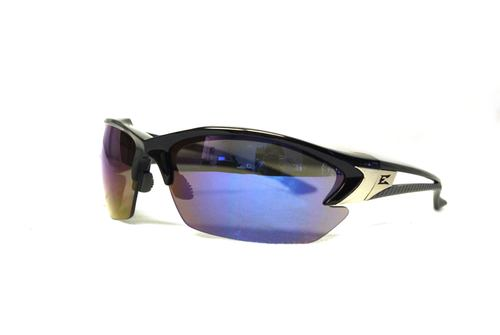 Blue Mirror/Black Glasses for Eye Protection