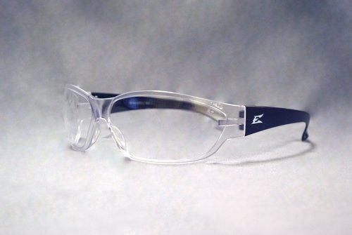 Clear/Black Glasses for Eye Protection