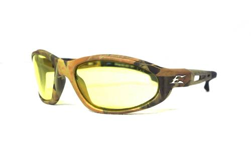 Yellow/Camo Glasses for Eye Protection