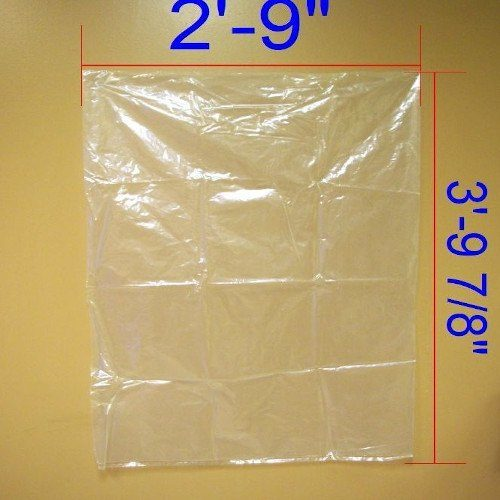 Clear Heavy-Duty Contractor Bag