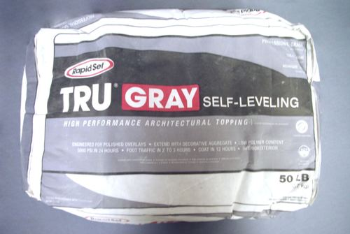 Rapid Set TRU Gray Self-Leveling