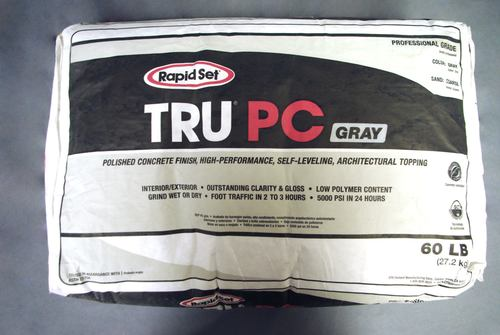 Rapid Set TRU PC Polished Concrete