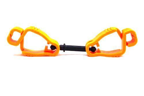 Orange Safety Glove Clips