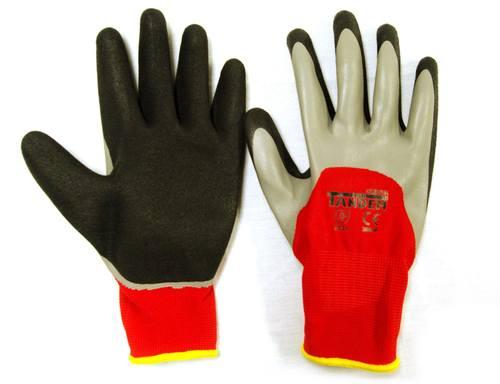 Red Tandem Safety Gloves