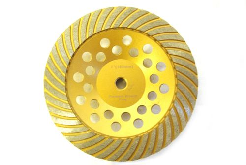 """7"""" Turbo Cup Wheel for Grinding"""