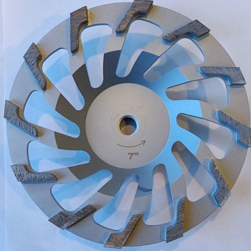 """7"""" L-Seg Cup Wheel for Grinding"""