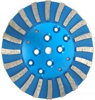 20-Segment Tornado Diamond Grinding Plate (Medium Bond)