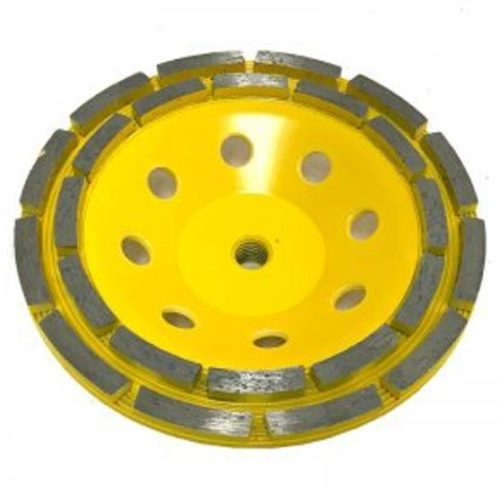 """7"""" Double Row Cup Wheel for Grinding"""