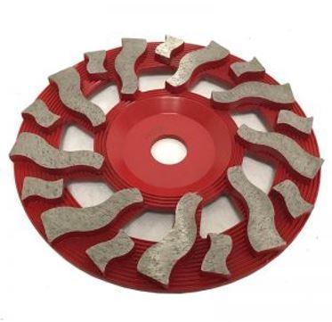 """7"""" Premium Flat Twister Cup Wheel for Grinding"""