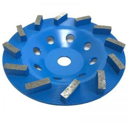 """7"""" Jumbo Spiral Cup Wheel for Grinding"""