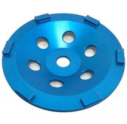 """7"""" Flat Top Half Round PCD Cup Wheel for Grinding"""