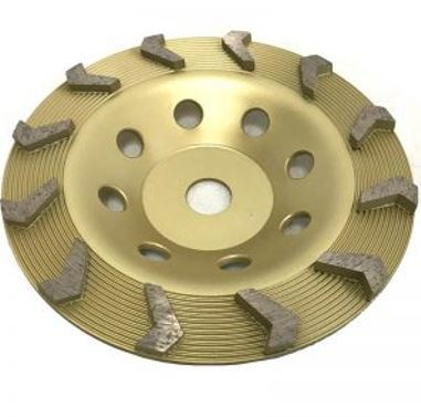 "7"" Rapida Cup Wheel for Grinding"