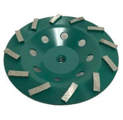 """7"""" Spiral Cup Wheel for Grinding (Dark Green Series)"""