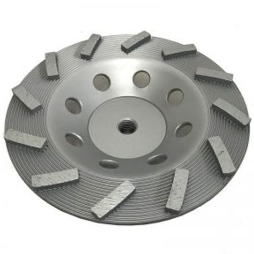 """7"""" Threaded Cup Wheel for Grinding"""