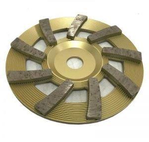 7″ 9-Seg Tornado Flat Cup Wheel for Grinding (Premium Soft)
