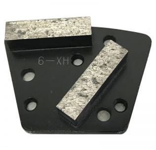 Diamond Trapezoid Bolt-On Double Bar Segment (Extreme Hard Bond)