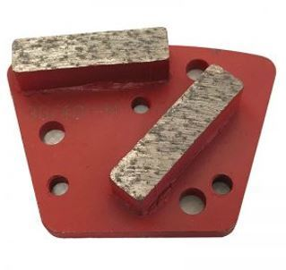 Diamond Trapezoid Bolt-On Double Bar Segment (Medium Bond)