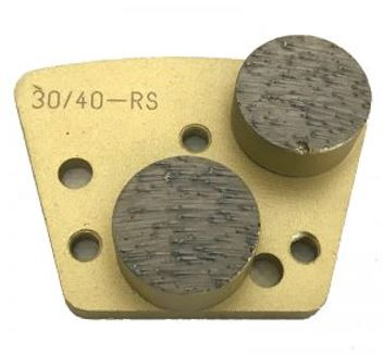 Diamond Trapezoid Bolt-On Double Round Segment (Extreme Soft Bond)
