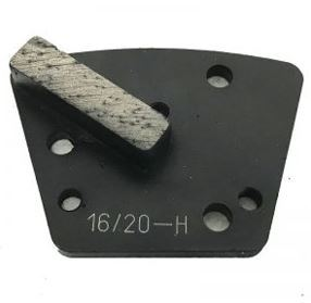 Diamond Trapezoid Bolt-On Single Bar Segment (Hard Bond)