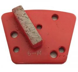 Diamond Trapezoid Bolt-On Single Bar Segment (Medium Bond)