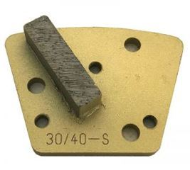 Diamond Trapezoid Bolt-On Single Bar Segment (Soft Bond)