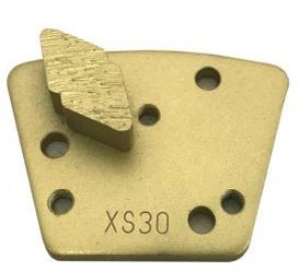 Diamond Trapezoid Bolt-On Single Diamond Segment (Extreme Soft Bond)