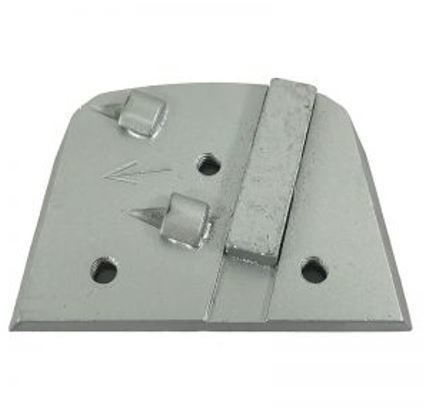 Alternative to Edco, Lavina, and Onfloor Parts: Slim Fit Double Quarter Round PCD w/ Segment Bar