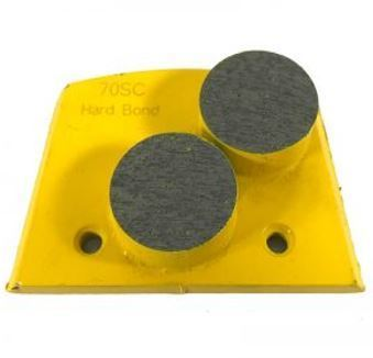 Alternative to Edco, Lavina, and Onfloor Parts: Slim Fit Double Round Button (Hard Bond)