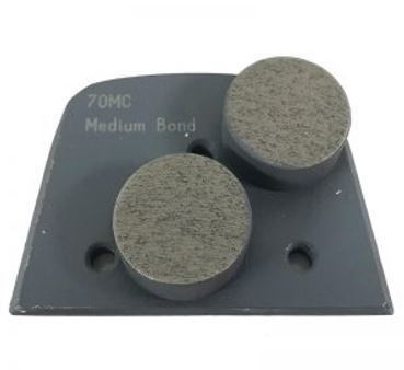 Alternative to Edco, Lavina, and Onfloor Parts: Slim Fit Double Round Button (Medium Bond)