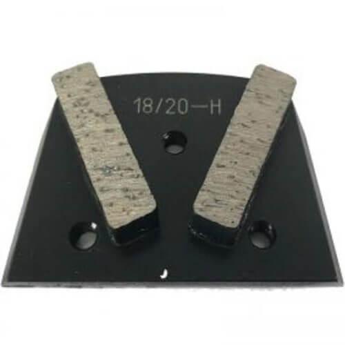 Alternative to Edco, Lavina, and Onfloor Parts: Slim Fit Double Segment (Hard Bond)