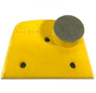 Alternative to Edco, Lavina, and Onfloor Parts: Slim Fit Single Round Button (Hard Bond)