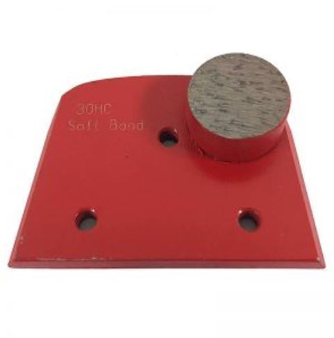 Alternative to Edco, Lavina, and Onfloor Parts: Slim Fit Single Round Button (Soft Bond)
