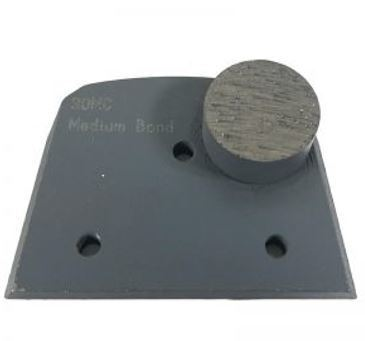 Alternative to Edco, Lavina, and Onfloor Parts: Slim Fit Single Round Button (Medium Bond)
