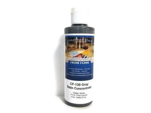 Colors for Concrete Stain: Gray (4 Oz)