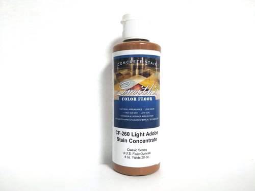 Colors for Concrete Stain: Light Adobe (4 Oz)