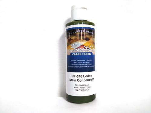 Colors for Concrete Stain: Loden