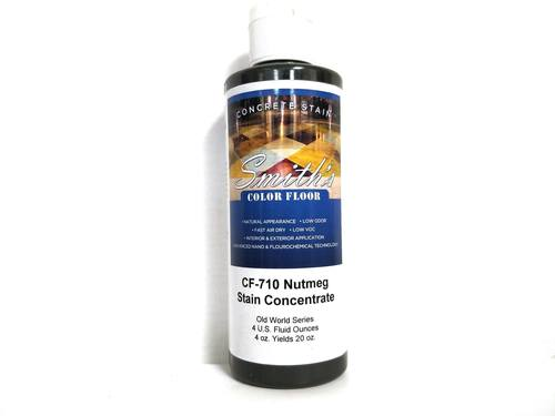 Colors for Concrete Stain: Nutmeg (4 Oz)