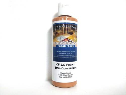 Colors for Concrete Stain: Pottery (4 Oz)