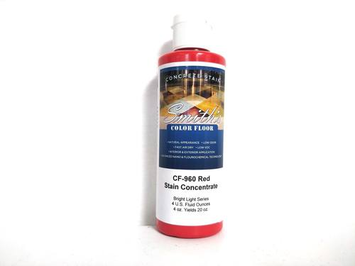 Colors for Concrete Stain: Red
