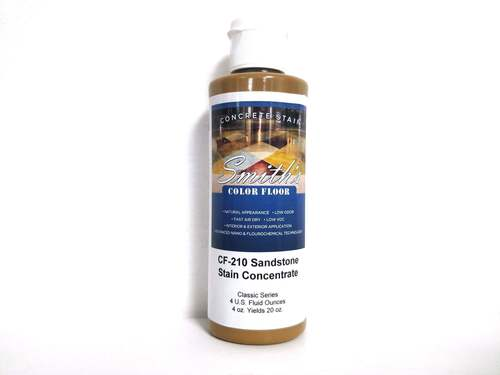 Colors for Concrete Stain: Sandstone (4 Oz)