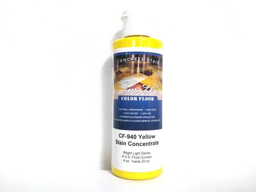 Colors for Concrete Stain: Yellow