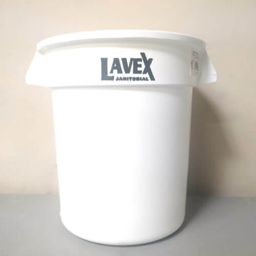 10 Gal White Lavex Bucket